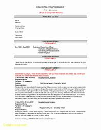 Resume Templates Australia Free Perfect Resume