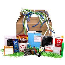 Freshman Survival Kit Gift Basket