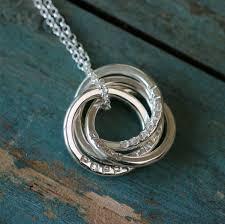monogram name necklaces