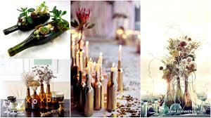 Upcycling Inspiration Pack-Insanely Beautiful DIY Wine Bottle Centerpieces  That You Should Try