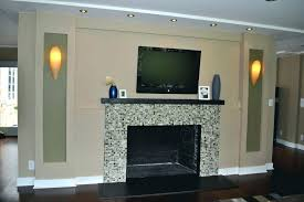 glass fireplace tile s glass tile fireplace images