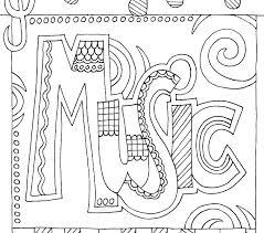 Music Coloring Worksheets Music Coloring Pages Musical Coloring