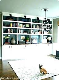 diy built in bookshelves diy built in cabinets beside fireplace