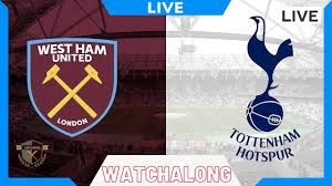 West Ham vs Tottenham Live EPL Stream | Watchalong west ham spurs live -  YouTube