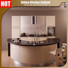 Zhihua High Gloss Acrylic Indian Kitchen Cabinet With Elegant Design