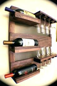 hanging wine rack recycled stave 5 bottle wall mounted target