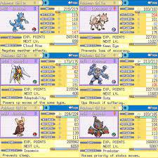 Pokemon Ultra Shiny Gold Sigma Team! (Johto) : PokemonHallOfFame