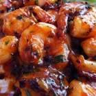 camarones enchipotlados  shrimp in chipotle sauce
