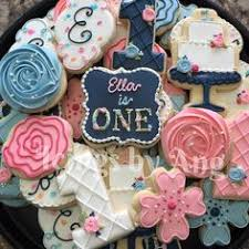 75 Best First Birthday Cookies Images Decorated Cookies Cute