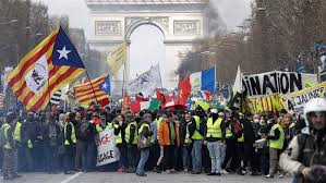 Image result for yellow vest violence