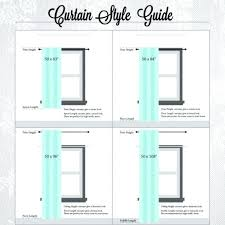standard curtain lengths. Standard Curtain Sizes Awesome Size Chart Width Lengths E