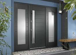 stockholm 1 94m grey front door with