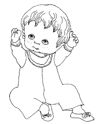 Small Picture Baby Coloring Pages for Kids Baby Coloring Sheets Coloring
