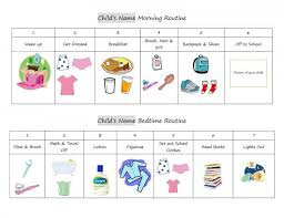 Free Morning Routine Chart Pictures Free Evening Routine Cliparts Download Free Clip Art Free