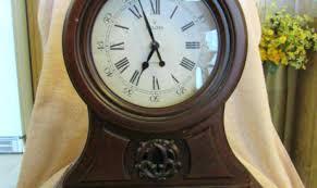 bulova wooden wall clock newyorkco