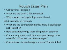 is psychology a science ppt video online  rough essay plan controversial question