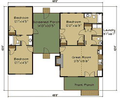 dog trot house plans. 3 Bed Dog Trot House Plan With Sleeping Loft - 92377MX Floor Main Level Plans G