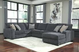 3 piece sectional with chaise nevio pc leather sofa