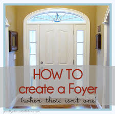 There is something about coming into a home that has a foyer, an entryway,  a vestibule.