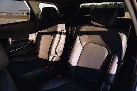2017 hyundai santa fe xl rear seats