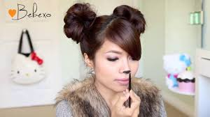Cat Hair Style diy halloween costume ideas bear & cat ears hairstyle & makeup 8499 by wearticles.com