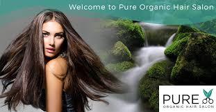 pure organic hair salon
