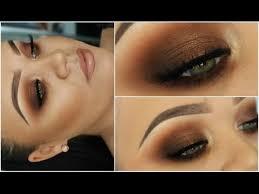 kim kardashian bronze smokey eyes one brand tutorial freedom makeup