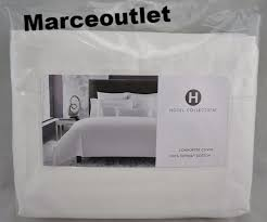 hotel collection 680 thread count supima cotton full queen duvet cover white