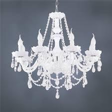 hot classic white crystal glass chandelier modern fashion art in prepare 2