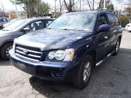 2003 Used Toyota Highlander at Woodbridge Public Auto Auction, VA ...