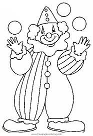 545x794 fascinating clown outline balloons coloring page pages colouring