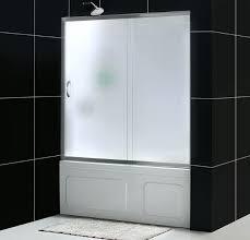 frameless bathtub enclosures infinity tub door with frosted glass frameless bathtub doors bronze frameless bathtub door