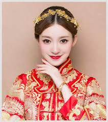 2018 Costume Costume Coiffure Chinois Mariage Cheveux Décoration Simple Robe Longfeng Robe Xiuhe Robe Fengguan Décoration Atmosphère De Mariage