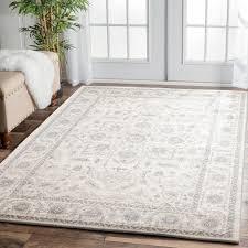 eliza 261 white cream grey modern rug rugtastic cream and gray rug