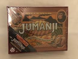 "Jumanji Wooden Board Game NEW 100 Jumanji ""The Game"" Board Game in Real Wooden Wood Box 90"