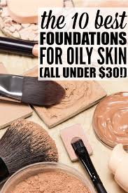 with so many options to choose from finding the best foundation for oily skin can