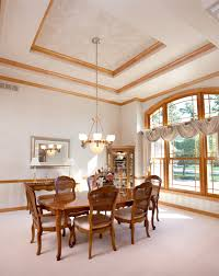 Indented Ceiling Lights 50 Dining Rooms With Tray Ceilings Photos