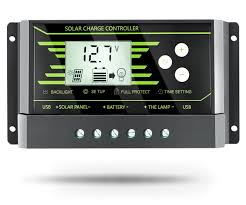 Solar Charge Controller CMP12 20A <b>12V</b>/<b>24V Solar Panel</b> Charge ...