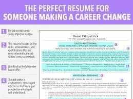 Career Change Resume Templates Best of Resume Templater Change Samples Exolgbabogadosco Templates Word