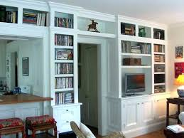 in wall bookshelf large size of furniture simple built bookshelves beech bookcase best wood for shelving