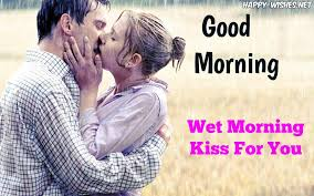 blurr back ground images romantic coupel kissing good morning image