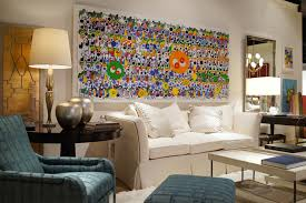 how to hang large paintings home safe