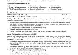 Business Resume Resume Profile Examples Business Letters Formal