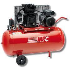 compresor de aire para pintar. herramienta electrica de aire a presion mpc bicilindrico 100l compresor para pintar