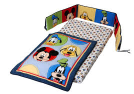 mickey mouse 3 piece crib bedding set baby mickey crib set design