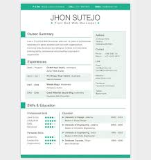 Awesome Resume Templates Fascinating Awesome Resume Templates Free coachoutletus