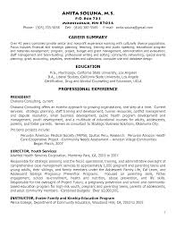Sorority Recruitment Resume