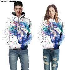 <b>TINGHON</b> Lovers <b>New</b> Autumn Winter <b>Fashion</b> Men/Women ...