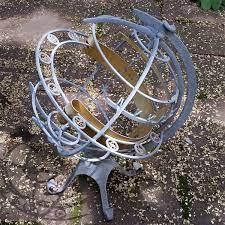 globe sundial armillary elaborate