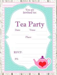 Tea Party Free Printables Mad Hatter Invitation Template Opusv Co